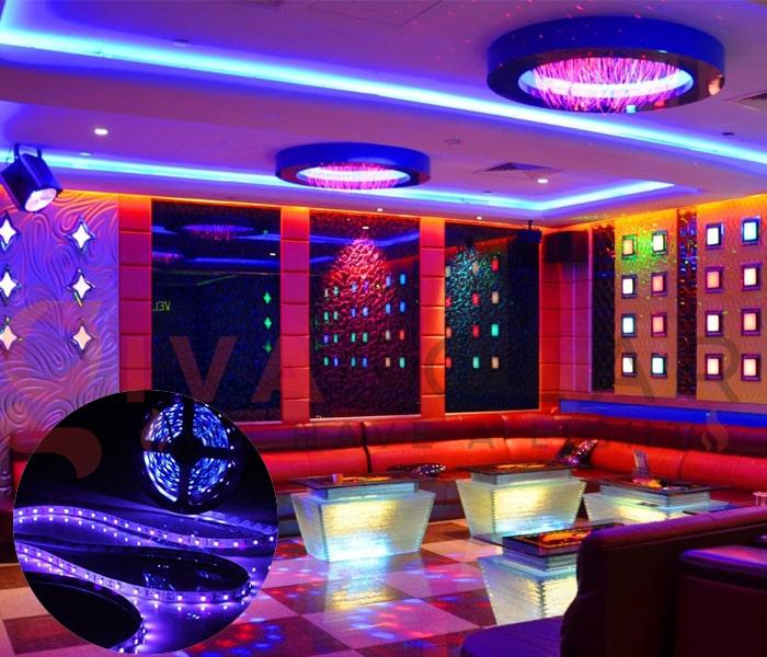 Kinh nghiệm sử dụng đèn trang trí phòng karaoke 3