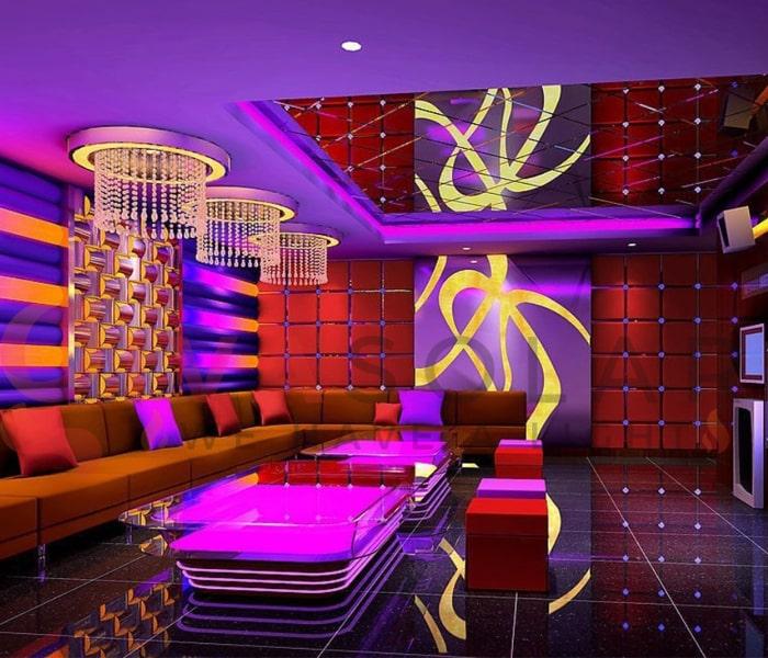 Kinh nghiệm sử dụng đèn trang trí phòng karaoke 4