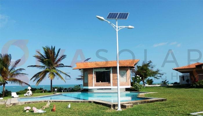 Thiết kế hệ thống đèn đường năng lượng mặt trời