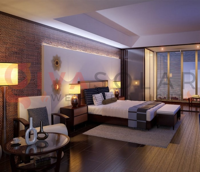 Ý tưởng thiết kế ánh sáng khách sạn bằng đèn LED 10