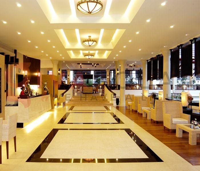 Ý tưởng thiết kế ánh sáng khách sạn bằng đèn LED 7