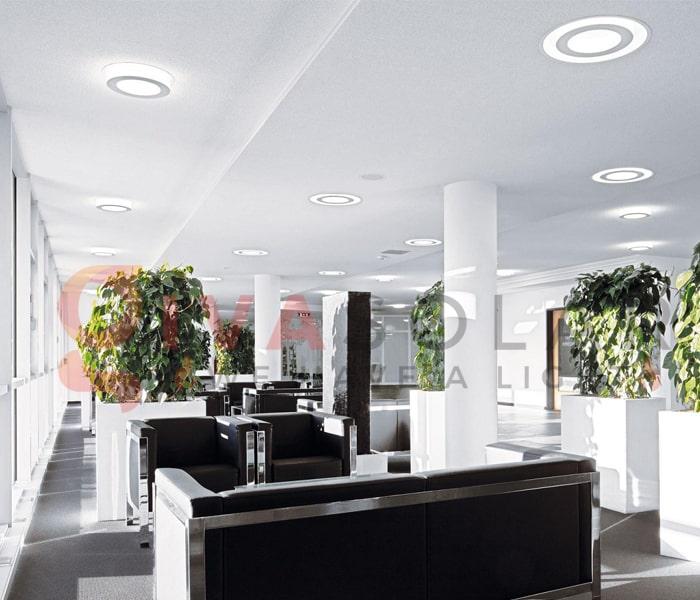 Ý tưởng thiết kế ánh sáng LED cho văn phòng 1