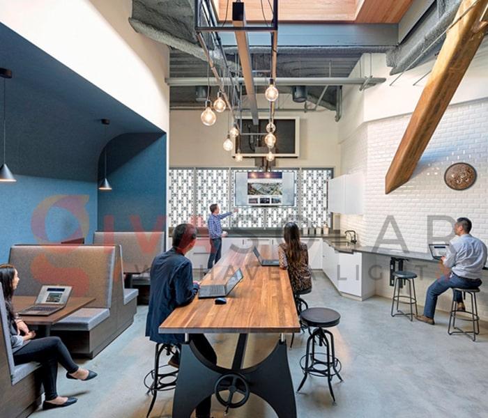 Ý tưởng thiết kế ánh sáng LED cho văn phòng 10