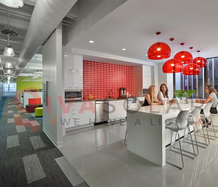 Ý tưởng thiết kế ánh sáng LED cho văn phòng 12