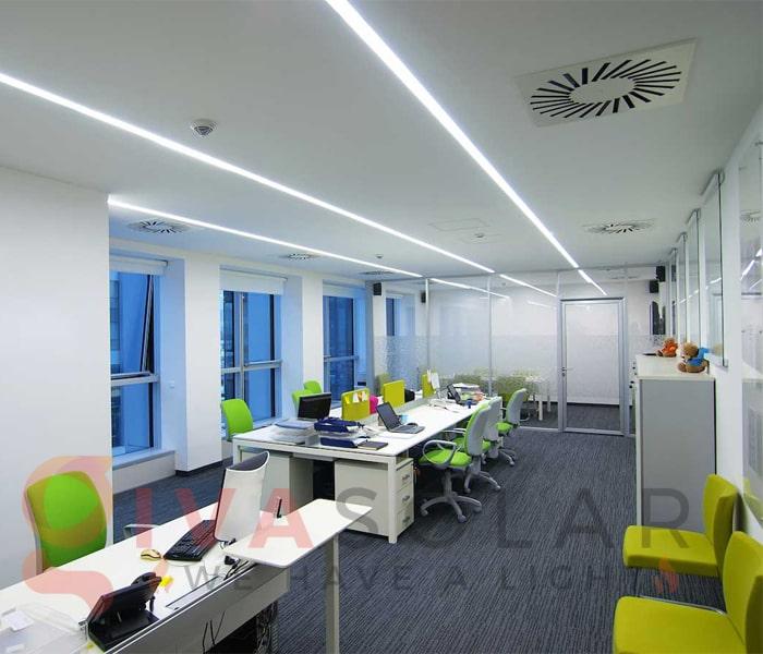 Ý tưởng thiết kế ánh sáng LED cho văn phòng 7