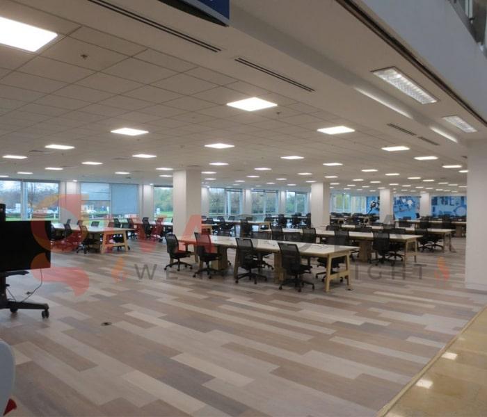 Ý tưởng thiết kế ánh sáng LED cho văn phòng 8