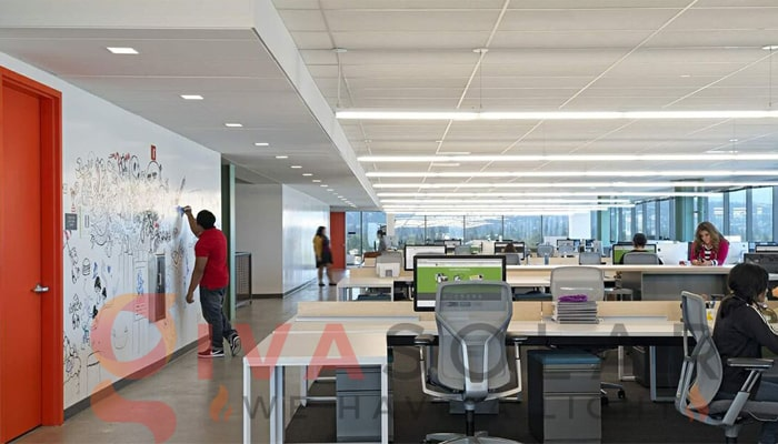 Ý tưởng thiết kế ánh sáng LED cho văn phòng