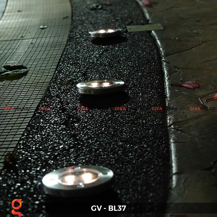 Đèn âm sàn năng lượng mặt trời GV-BL37 6