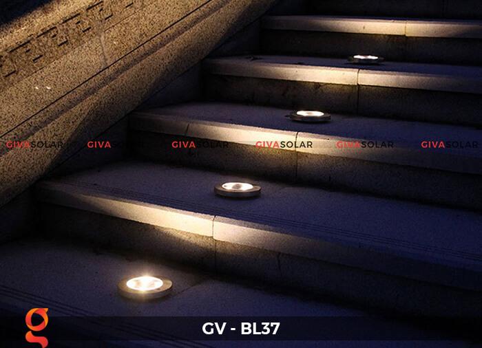 Đèn âm sàn năng lượng mặt trời GV-BL37 7