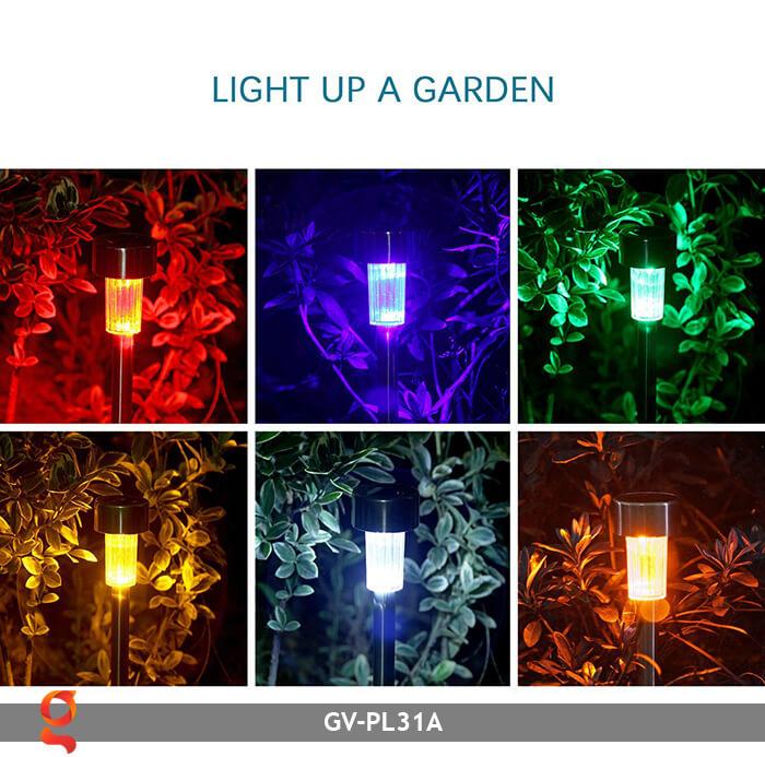 Đèn mạt trời cắm đất đổi màu GV-PL31A 10