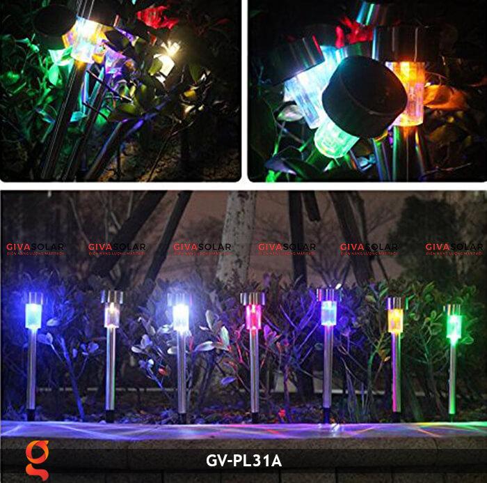 Đèn mạt trời cắm đất đổi màu GV-PL31A 18