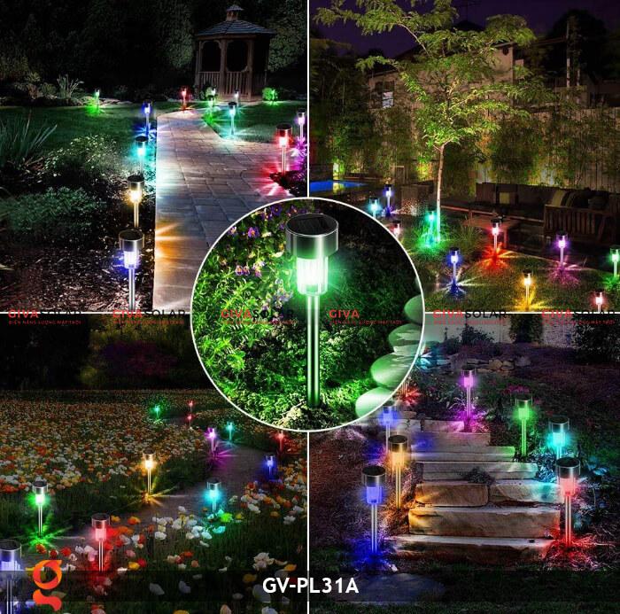 Đèn mạt trời cắm đất đổi màu GV-PL31A 19