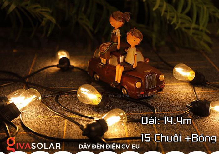 dây đèn chiếu sáng ngoài trời Gv-EU 4