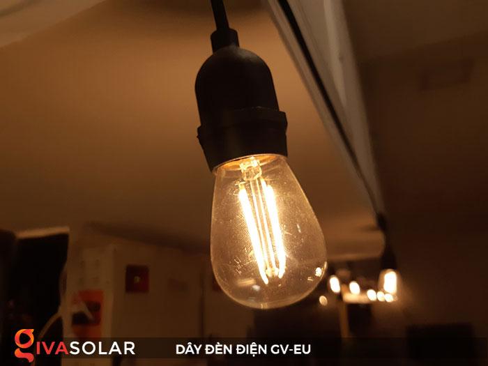 dây đèn chiếu sáng ngoài trời Gv-EU 5