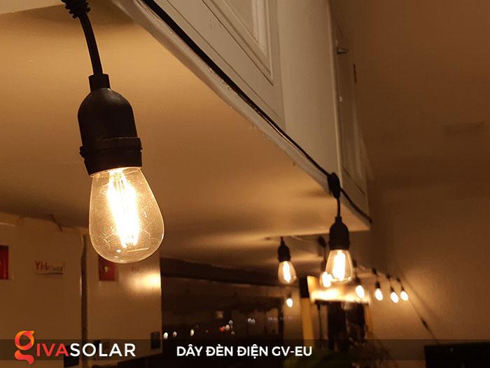 dây đèn chiếu sáng ngoài trời Gv-EU 6