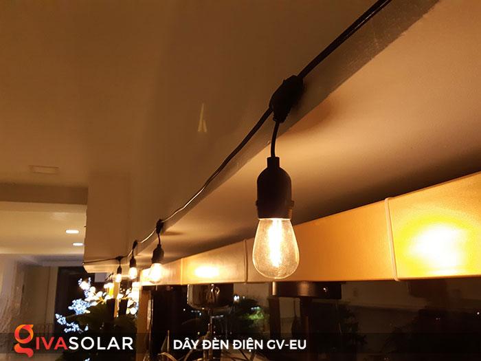dây đèn chiếu sáng ngoài trời Gv-EU 7