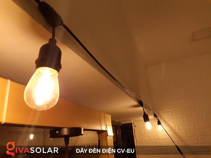 dây đèn chiếu sáng ngoài trời Gv-EU 8
