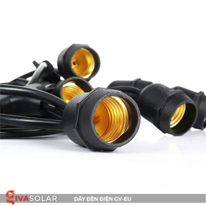 dây đèn chiếu sáng ngoài trời Gv-EU 9