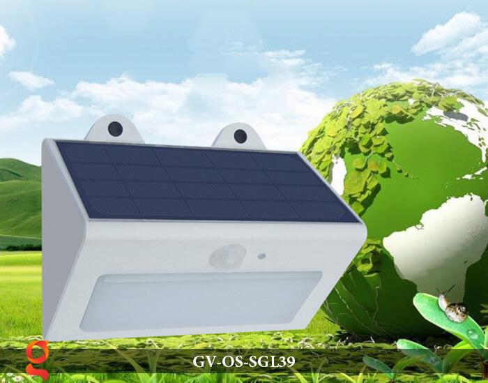 Đèn LED năng lượng mặt trời treo tường GV-OS-SGL39 8