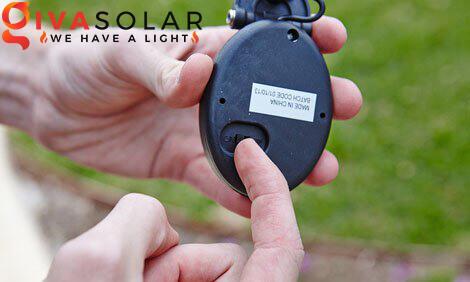 lắp đặt đèn cắm đất sân vườn năng lượng mặt trời 7
