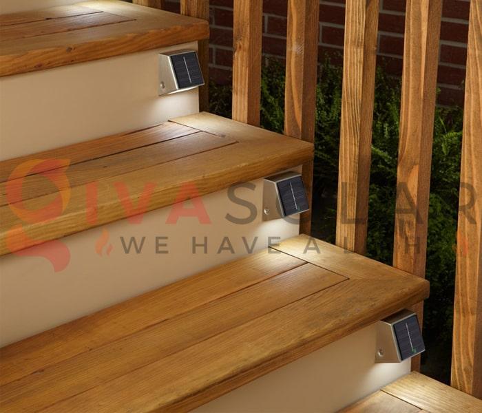 Sử dụng đèn năng lượng mặt trời cho sàn hiên nhà 4