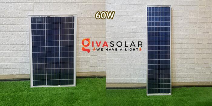 Tấm năng lượng mặt trời Poly 60W