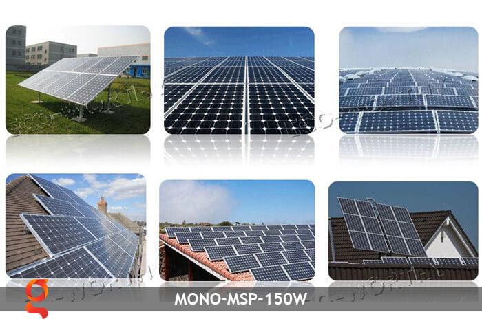 Tấm pin thu năng lượng mặt trời MONO MSP-150W 7