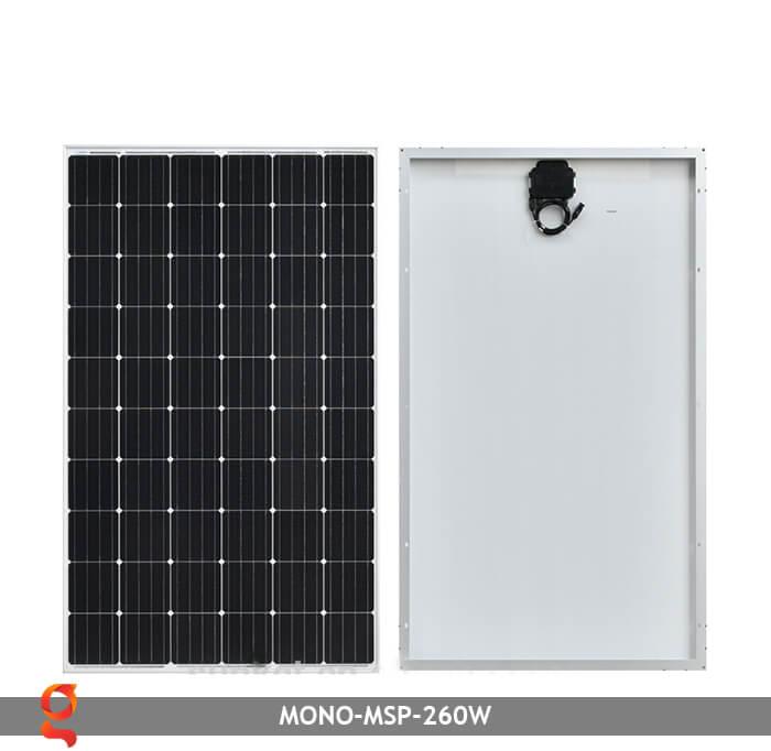Tấm pin thu năng lượng mặt trời Mono MSP-260W 2