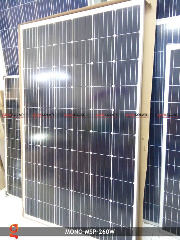 Tấm pin thu năng lượng mặt trời Mono MSP-260W 3