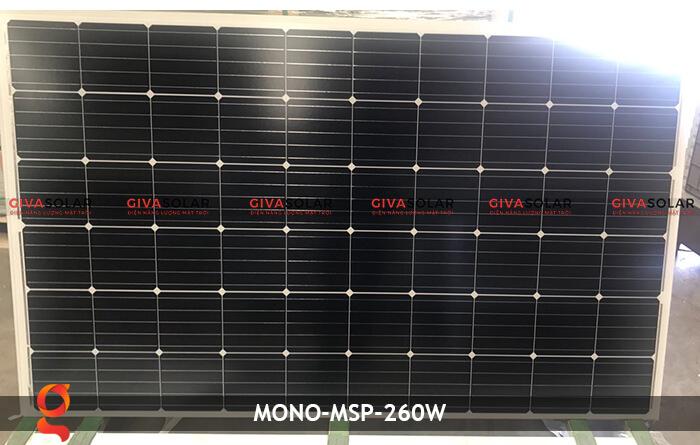 Tấm pin thu năng lượng mặt trời Mono MSP-260W 4