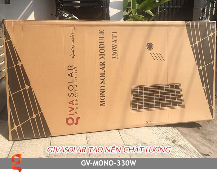 Tấm pin năng lượng mặt trời GV Mono MSP 330W 5