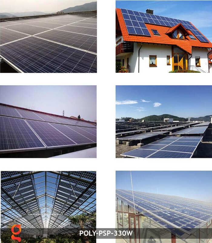 Tấm năng lượng mặt trời Poly PSP 330W 10