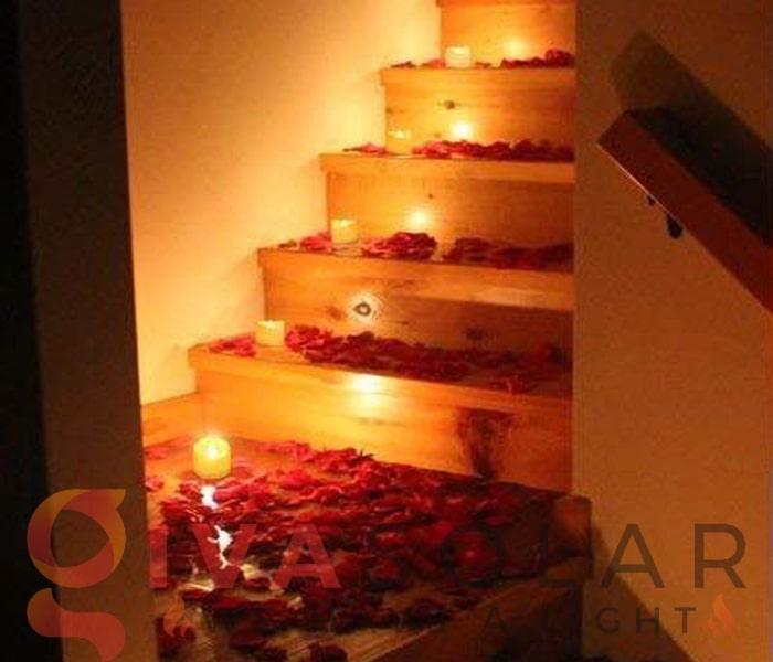 Ý tưởng đèn trang trí ngày Valentines lãng mạn 1