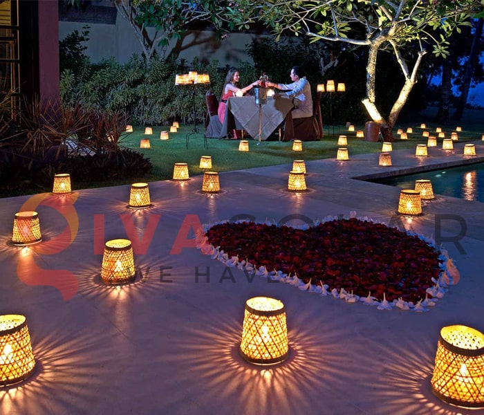 Ý tưởng đèn trang trí ngày Valentines lãng mạn 3