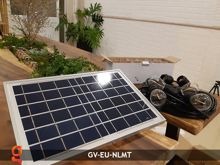 Dây đèn led sử dụng năng lượng mặt trời GV-EU-NLMT 2