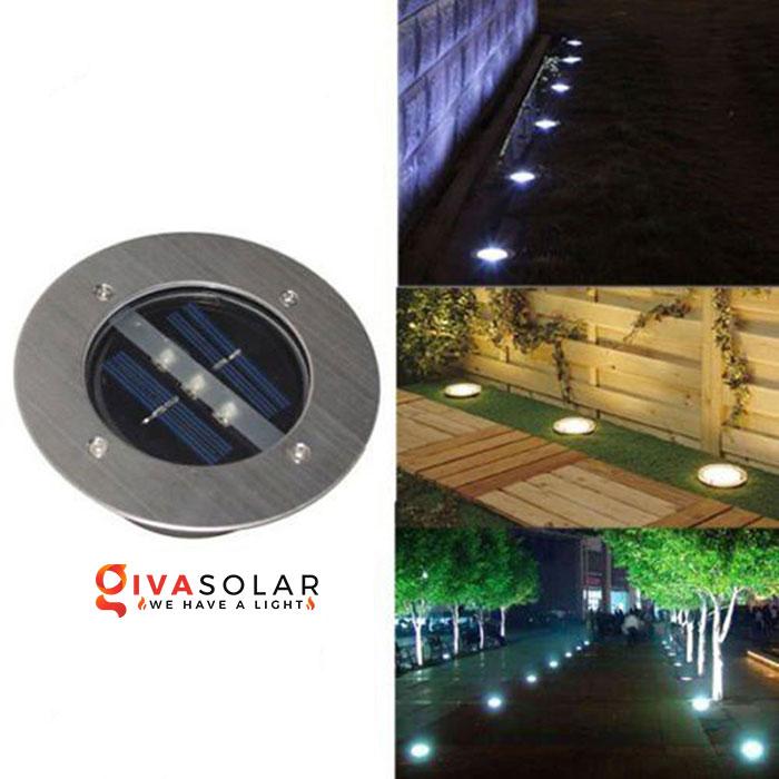 đèn led âm sàn năng lượng mặt trời 1