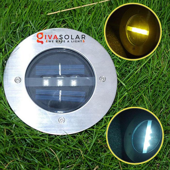 đèn led âm sàn năng lượng mặt trời 3