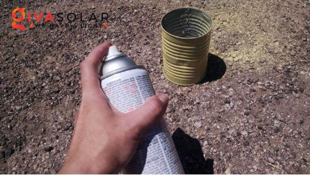 thiết kế đèn năng lượng mặt trời bằng hộp thiếc 5