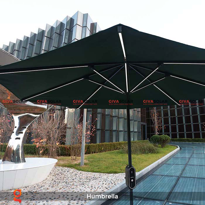 Dù năng lượng mặt trời Humbrella 1
