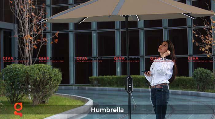 Dù năng lượng mặt trời Humbrella 11