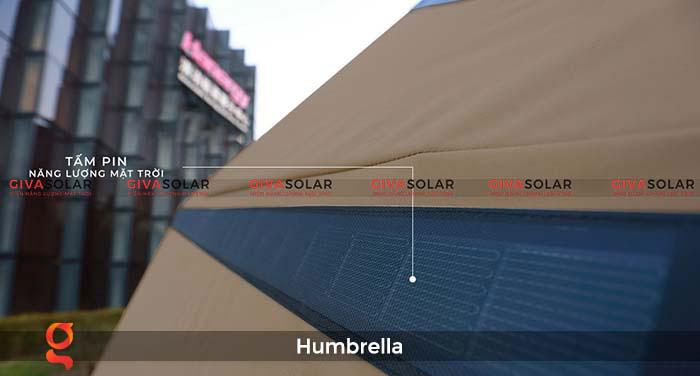 Dù năng lượng mặt trời Humbrella 12