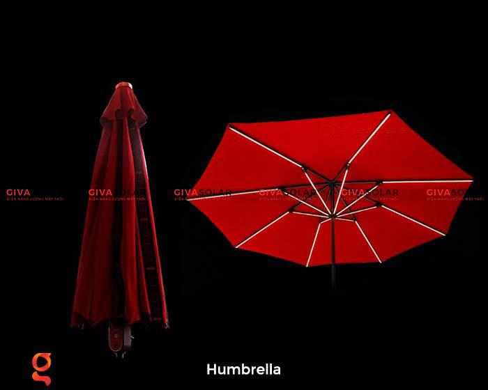 Dù năng lượng mặt trời Humbrella 16