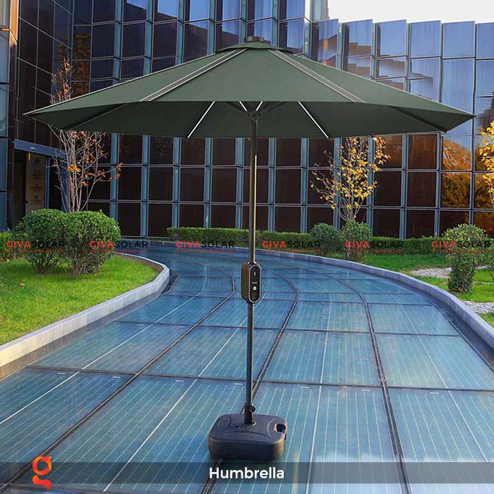 Dù năng lượng mặt trời Humbrella 2