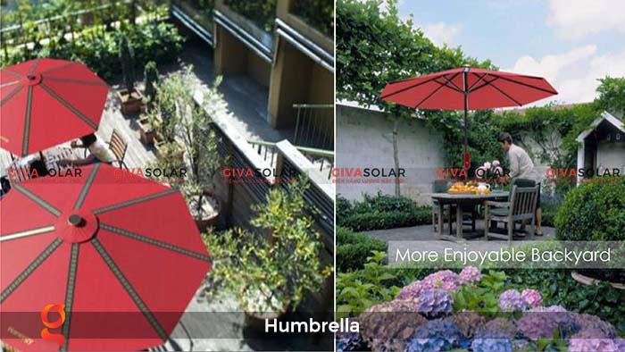 Dù năng lượng mặt trời Humbrella 21