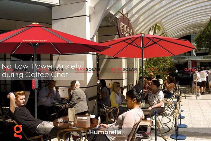 Dù năng lượng mặt trời Humbrella 23