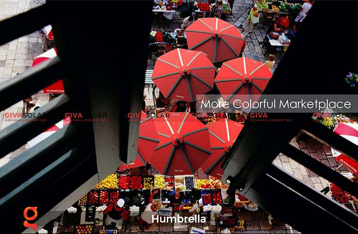 Dù năng lượng mặt trời Humbrella 24