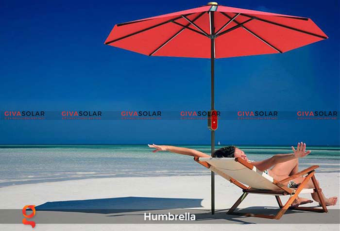Dù năng lượng mặt trời Humbrella 25