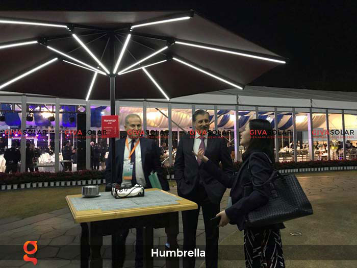 Dù năng lượng mặt trời Humbrella 26