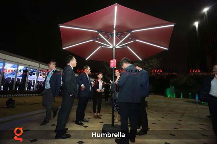 Dù năng lượng mặt trời Humbrella 27