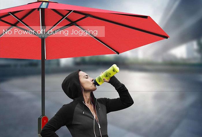 Dù năng lượng mặt trời Humbrella 28